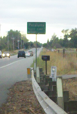 Entering Petaluma