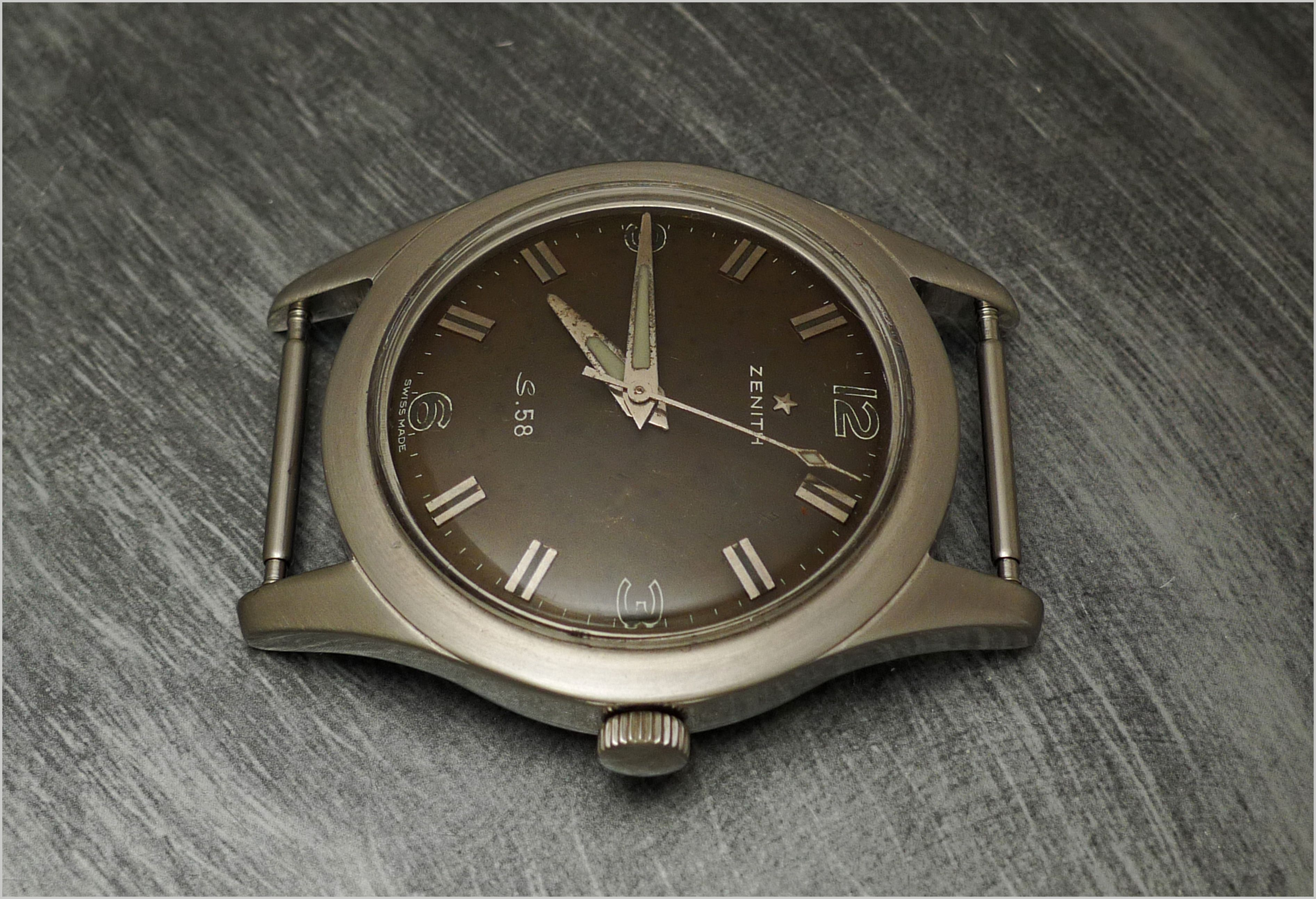 Reloj Zenith S 58