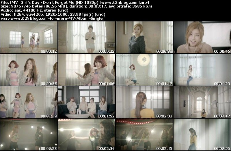 [MV] Girl's Day - Don't Forget Me (HD 1080p Youtube)