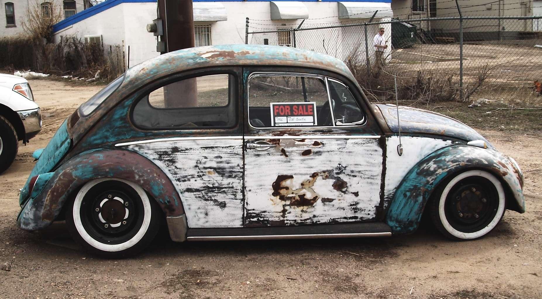 Torque 1 9 6 2 Volklswagen Beetle Bug Rat Look