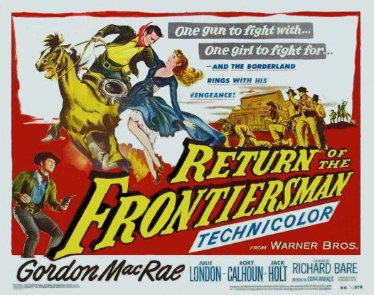 posterreturnofthefronti Richard L. Bare   Return of the Frontiersman (1950)