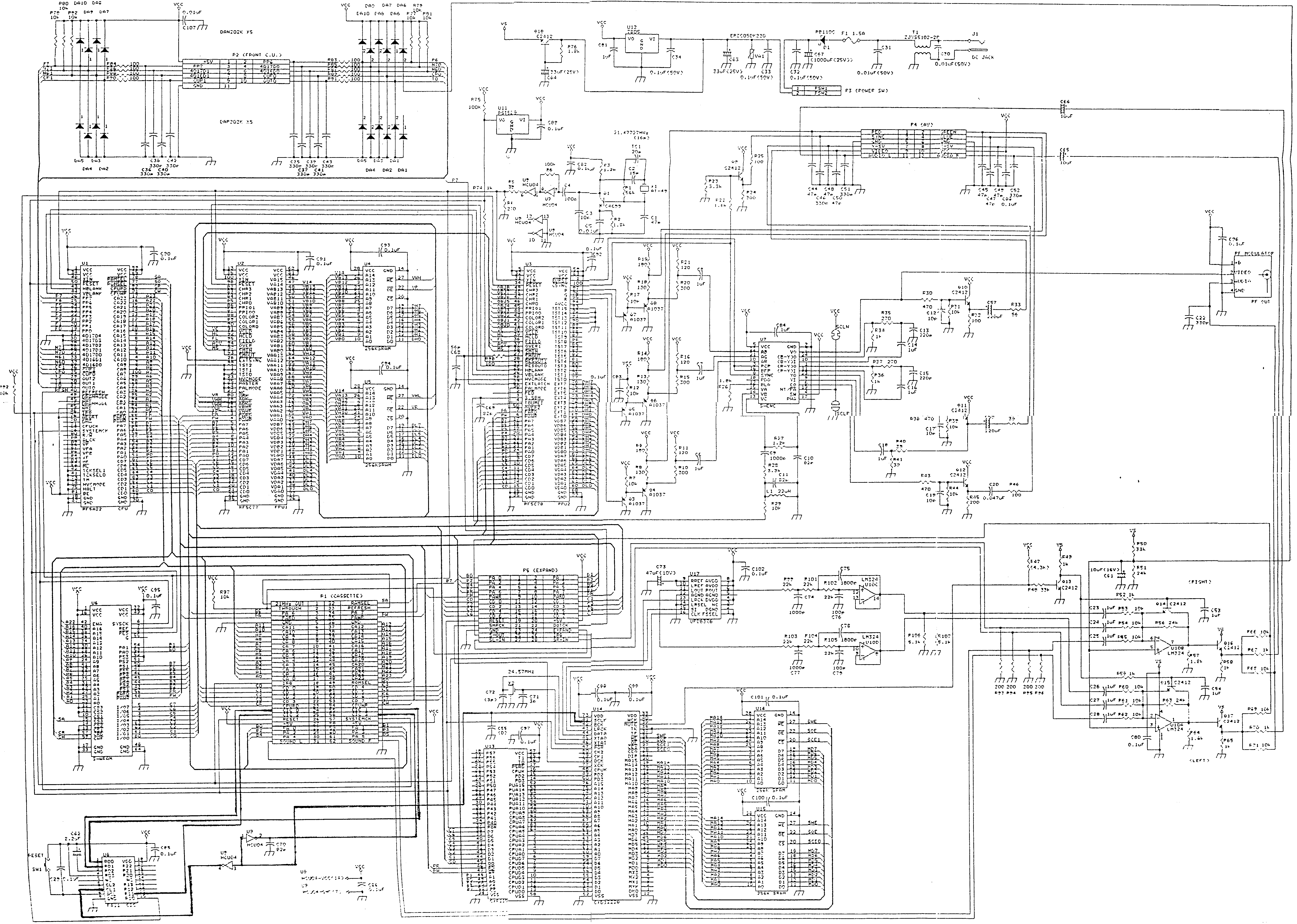 i need some help with snes schematics