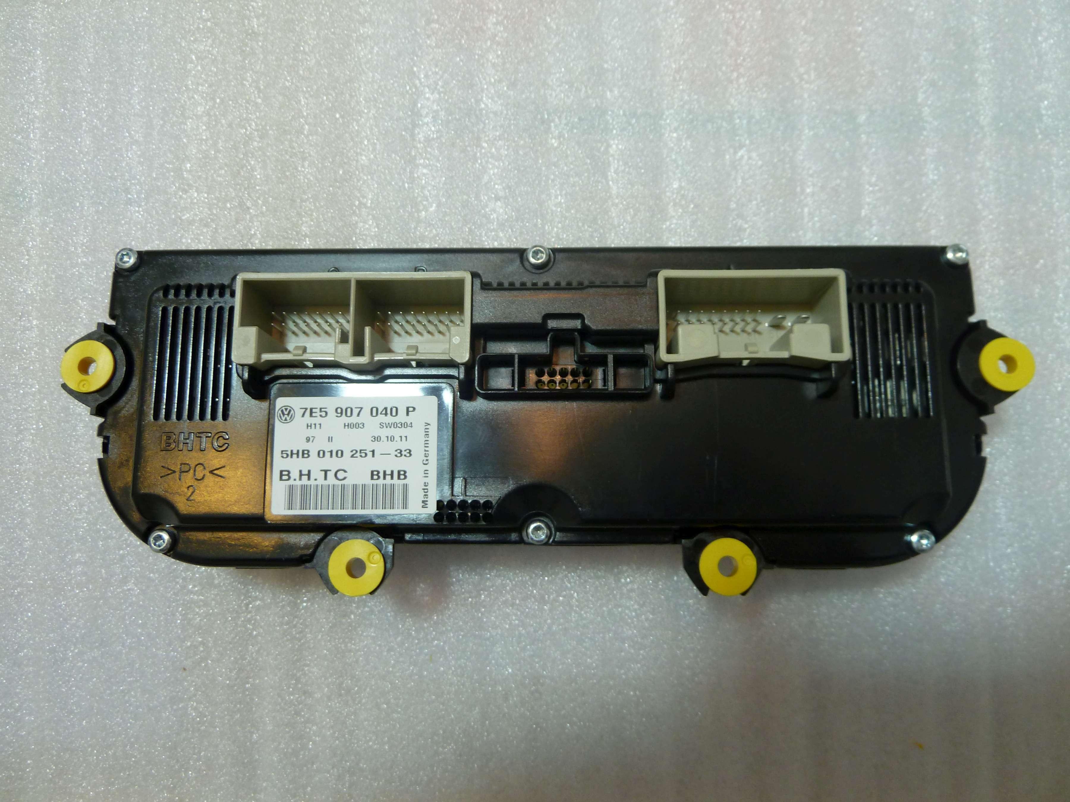 Klimabedienteil VW T5 7E5907040P 7E5 907 040 P Multivan Klima